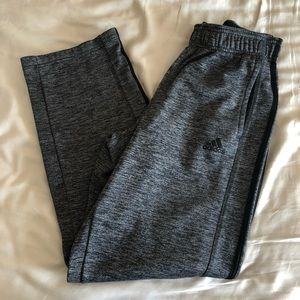 Men's gray adidas jogger pant